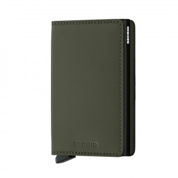 900285847 MINIWALLET  DARK GREEN / BLACK