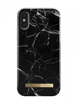 IDFCA16-18-21 BLACK MARBLE - iPHONE X