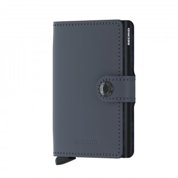 900285861 SECRID MINIWALLET - MATT GREY / BLACK