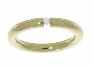 101235 SPENNRING MED DIAMANT CT 0,05 WSi