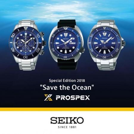 Seiko 5 Sports og Prospex